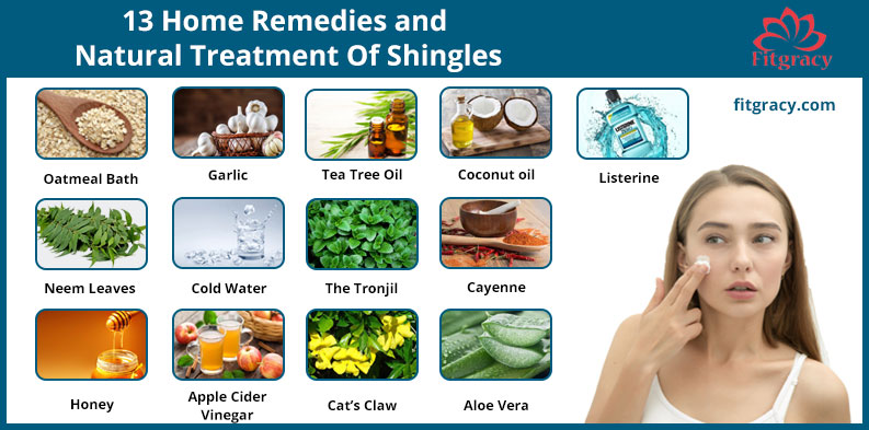 13 Home Remedies and Natural Treatment Of Shingles