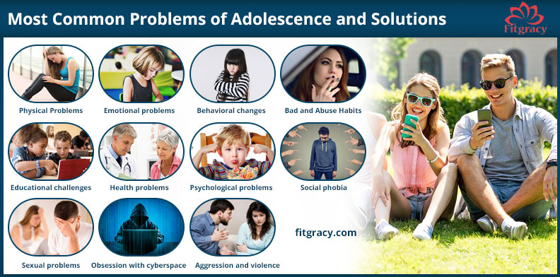 Most Common Problems of Adolescence and Solutions - Fitgracy
